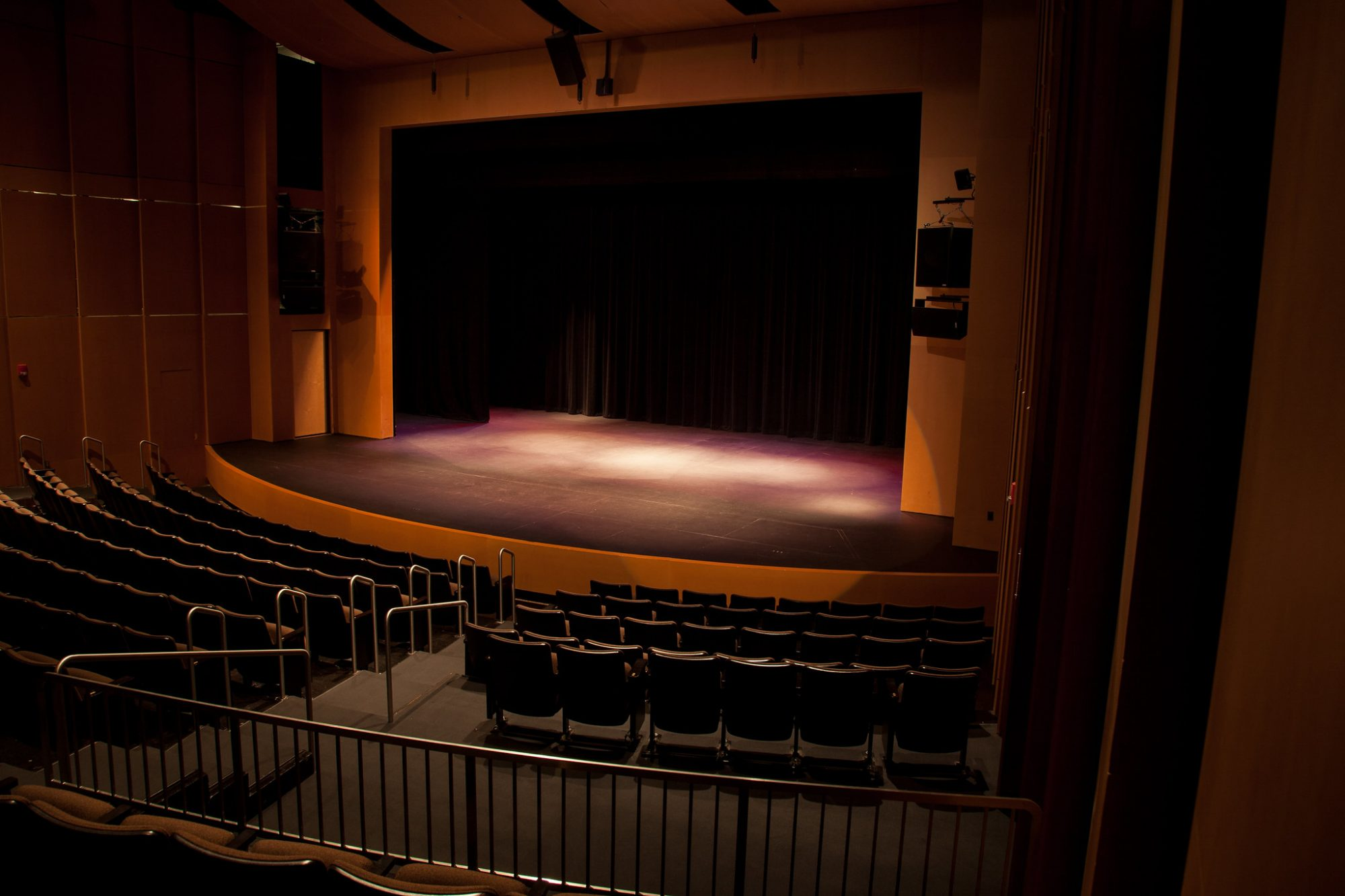 The Theater in the Doudna Fine Arts Center