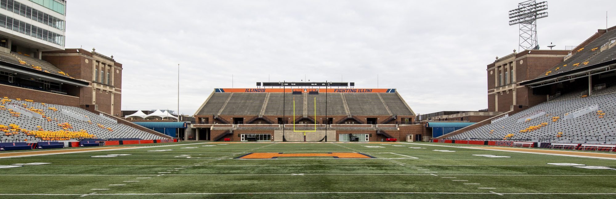 Memorial Stadium North Stands
